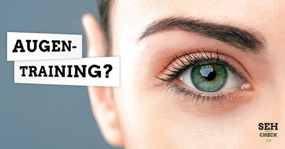 Augentraining Kurzsichtigkeit Brille
