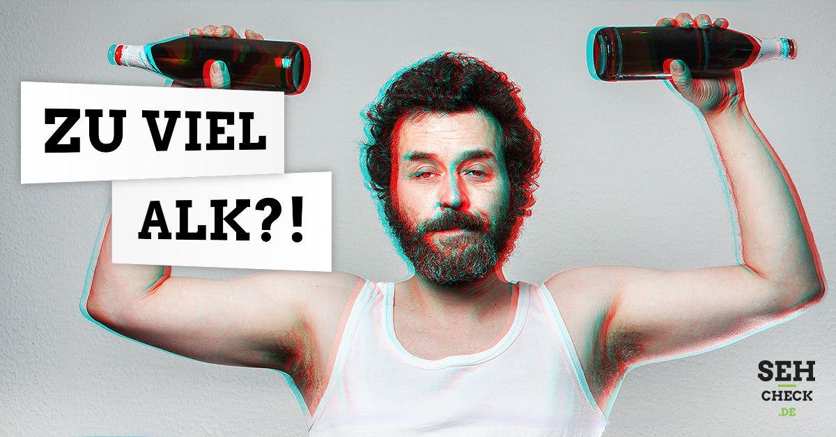 Doppelbilder durch Alkohol: Wieso sehen wir doppelt, wenn wir Alkohol getrunken haben?
