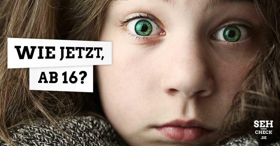 Ab welchem Alter darf man Kontaktlinsen tragen?