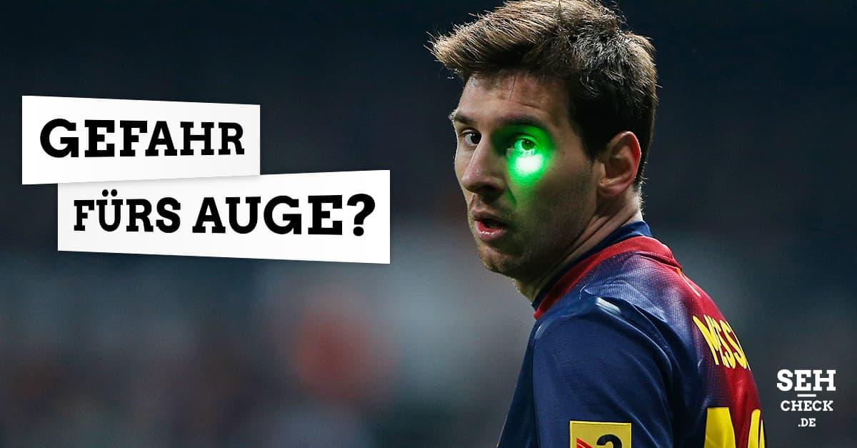 Laserpointer blind Augenschäden schädlich Augen